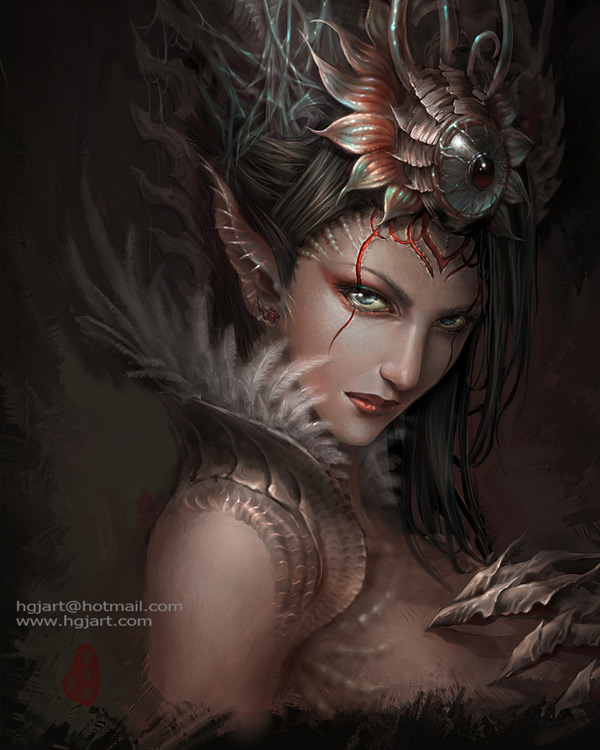 Exceptionally Detailed Fantasy Inspiration By Hgjart