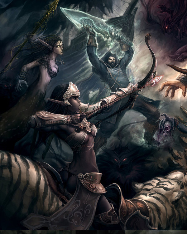 Fantasy Gaming Art By Kunkka
