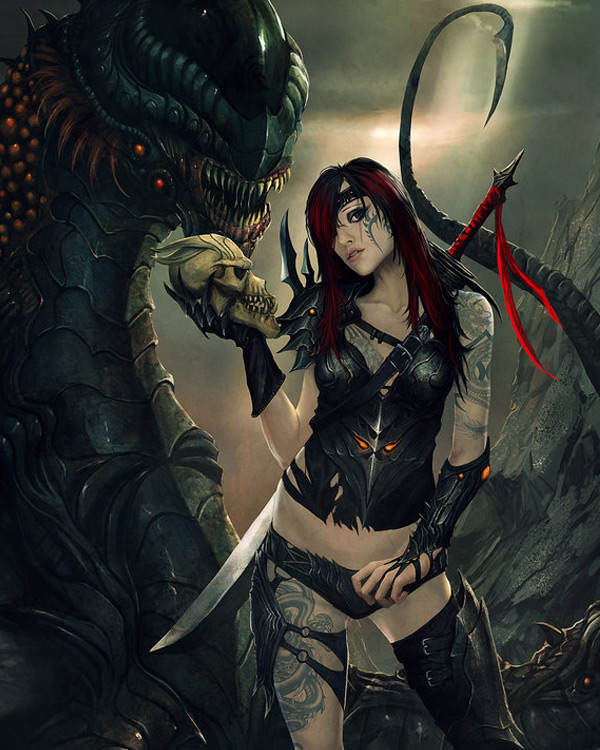Gothic & Punk Fantasy Art Featuring StandAlone-Complex