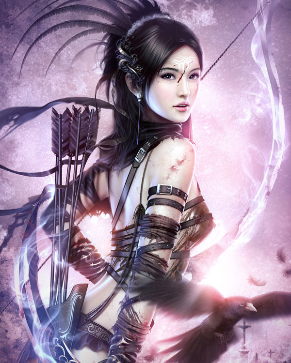 The Fantasy Art Of Raynkazuya