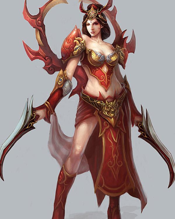 Beautifully Inspiring Fantasy Art Featuring Redpeggy