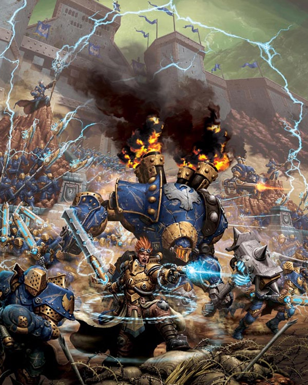 Warhammer 40k Inspired Art Featuring Andreauderzo