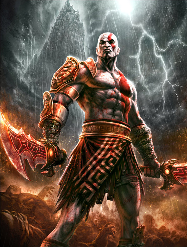 God of War Concept Art Featuring Andy Park