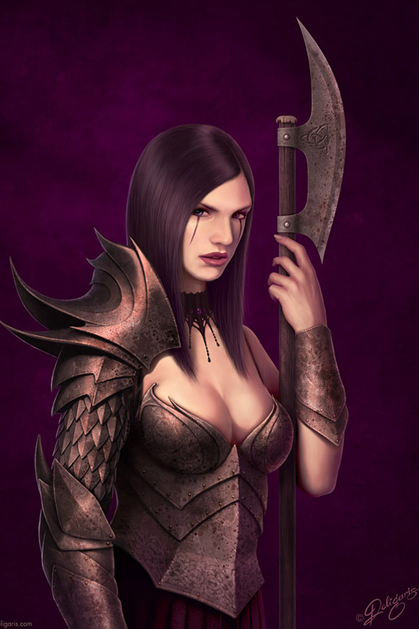 Fantasy Art By Emmy Nominated Artist Deligaris