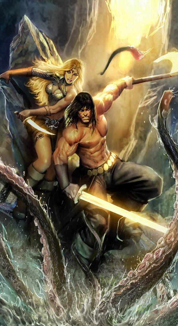 Fantasy Comic Book Art Featuring Stjepan Sejic