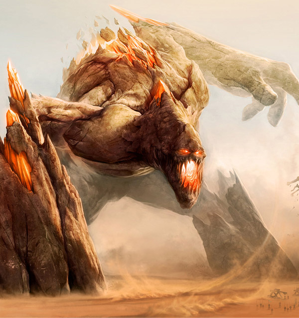 Rift: Evil & Deadly Colossus Concept Art