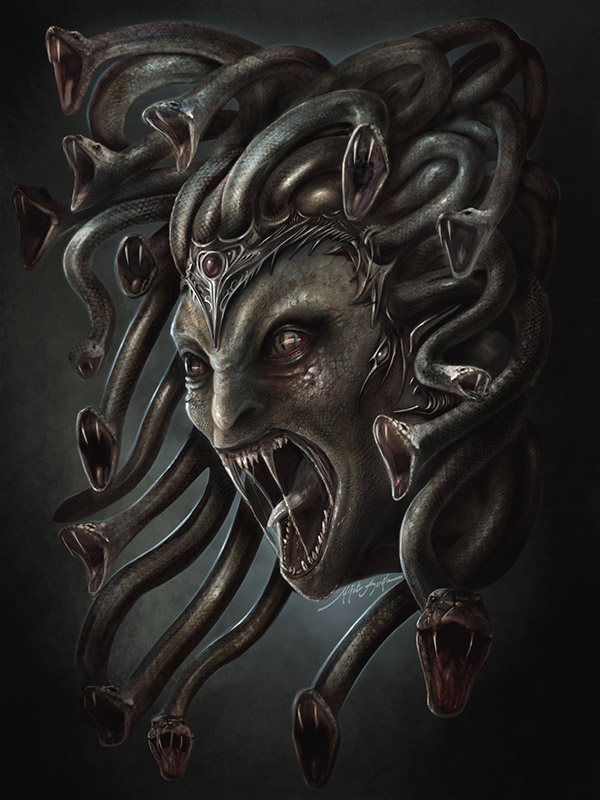 Dark & Mythical Fantasy Art By Yigit Korocglu