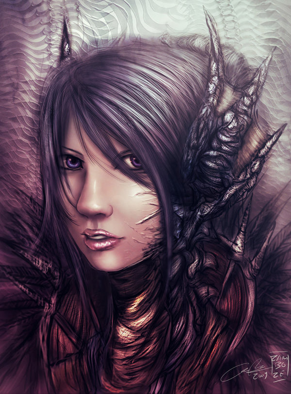 Anime Influenced Fantasy Art Featuring zamboze