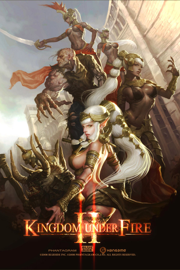 Kingdom Under Fire II Promotional Art Featuring GPZANG