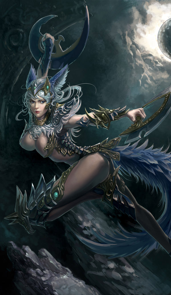 Beautiful Aion Inspired Fantasy Art Featuring XiaoBotong