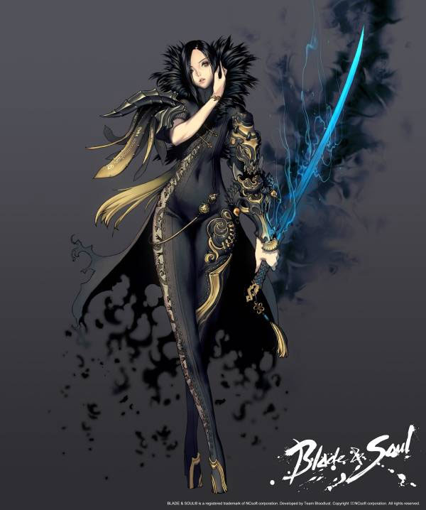 Official Blade and Soul Concept Art & Promotional Posters