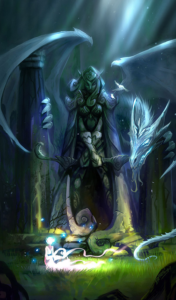 World of Warcraft Fan Art Featuring Artist Jian Guo