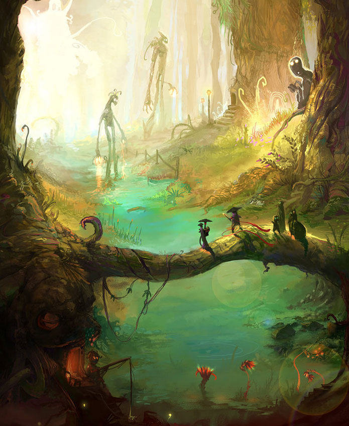 Breathtaking Fantasy Landscapes & Scenery
