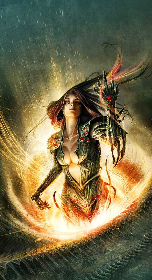 The Art of Fantasy Illustrator Jean-Sebastien Rossbach