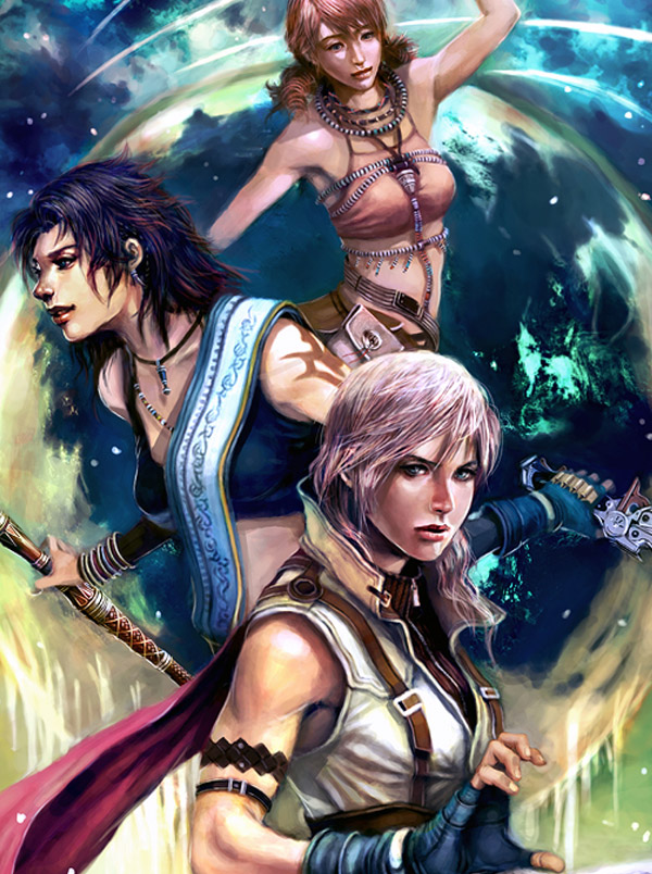 Final Fantasy Inspired Art Featuring Animator Leon JO