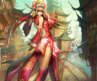 Fantasy Concept Art & CG Illustrations Featuring Lin Wenjun