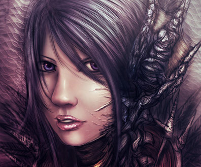 Anime Influenced Fantasy Art Featuring zamboze