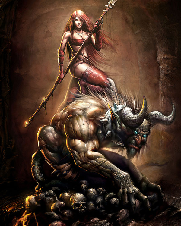 Fantasy Art Featuring Blackvolta Studio artist Nestor Ossandon