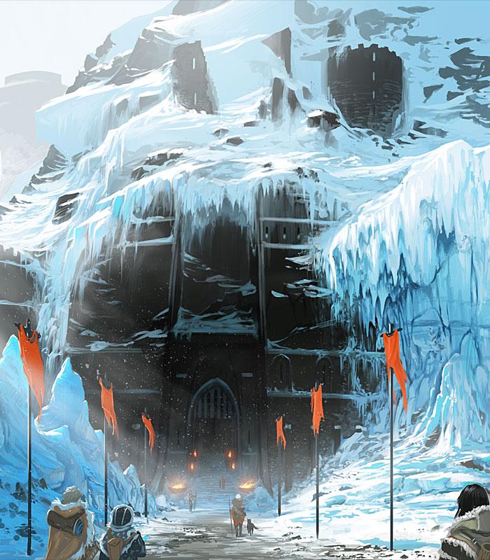 Breathtaking Environments & Sci-fi Art Featuring arcipello