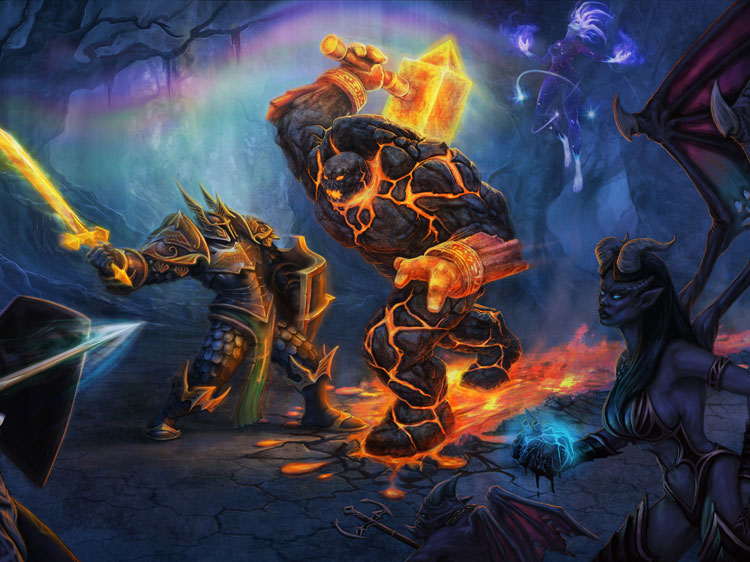 Game Feature - Heroes of Newerth Concept Art