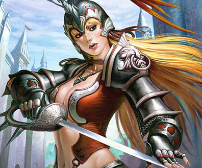Exceptional Fantasy Concepts Featuring Epic Warrior Promo Art