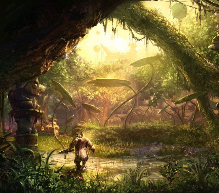 TERA Environment Design Featuring Seung Jin Woo