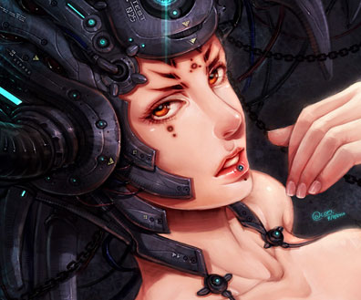 Cyborg & Surreal Fantasy Art Featuring Yee-Ling Chung