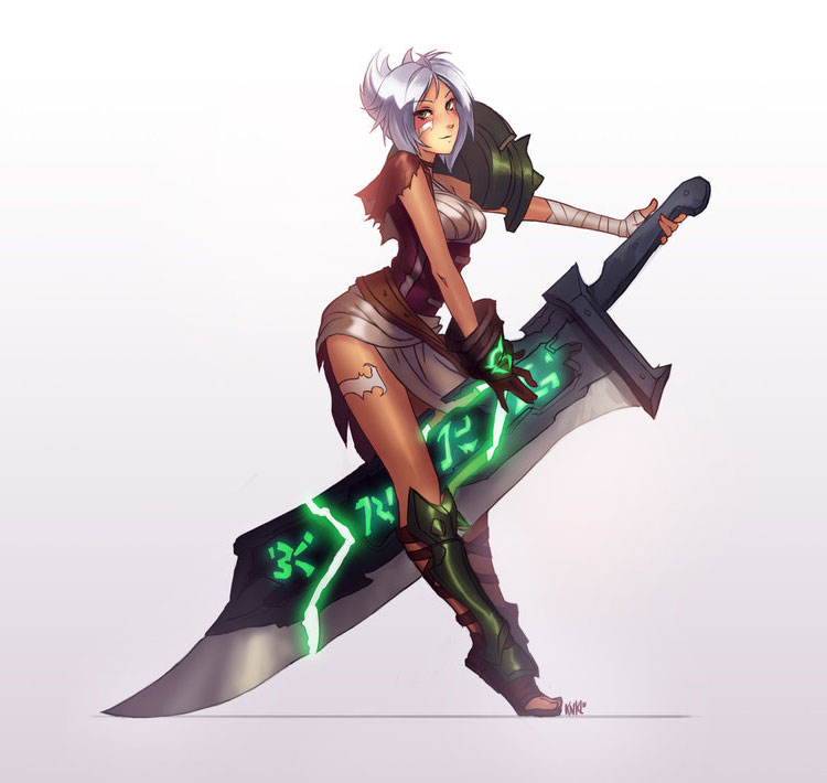League of Legends Champion Art Featuring Kienan Lafferty