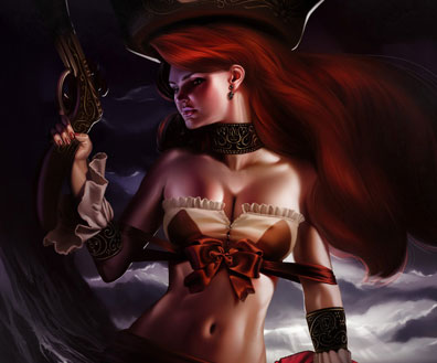 Sexy Fantasy Illustrations Featuring 2D Artist achibner