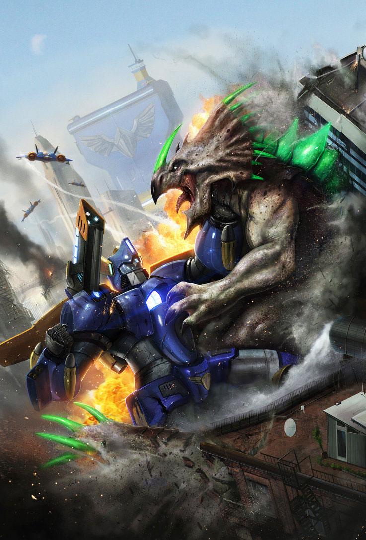 Sci-fi & Fantasy Art Featuring Digital Concept Artist Dan LuVisi