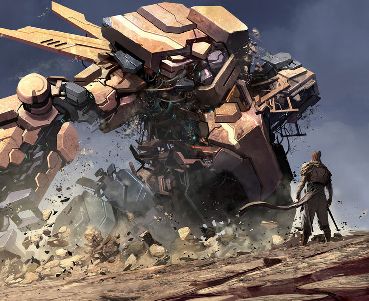 Transformers Inspired Mecha Art Featuring Reza Ilyasa
