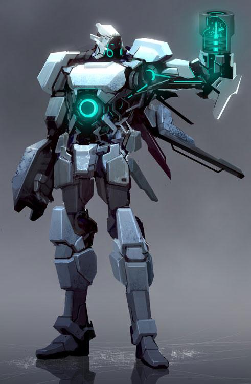 Transformers Inspired Mecha Art Featuring Reza Ilyasa