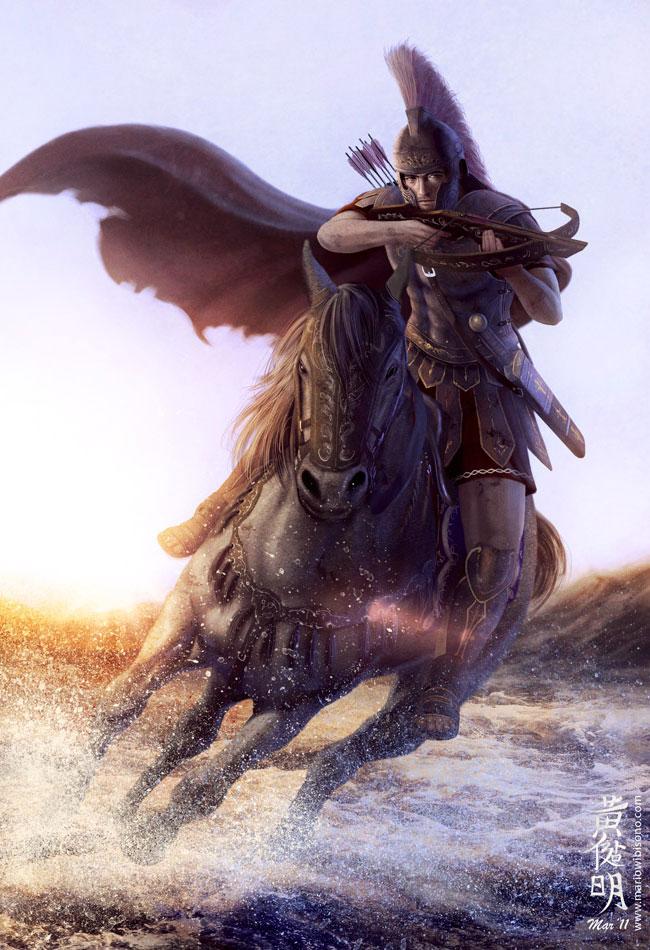 Realistic Fantasy Inspiration Featuring Artist Mario Wibisono