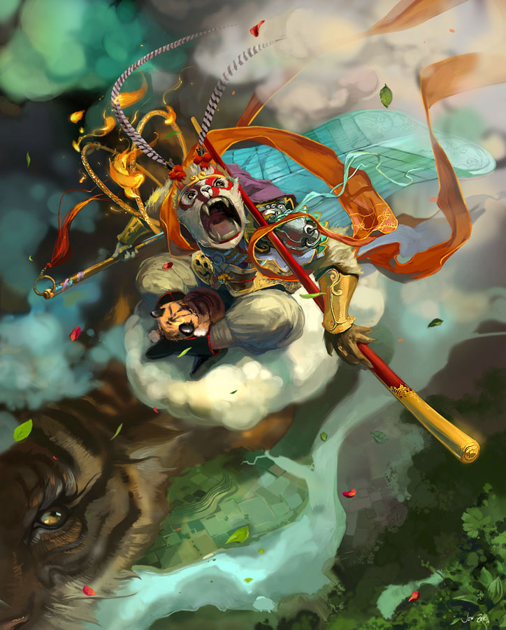 Fantasy Art Featuring Supergiant Games Art Director Jen Zee