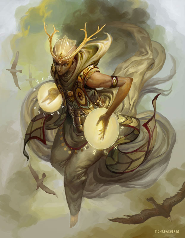 Surreal Character Concepts Featuring Peter Mohrbacher
