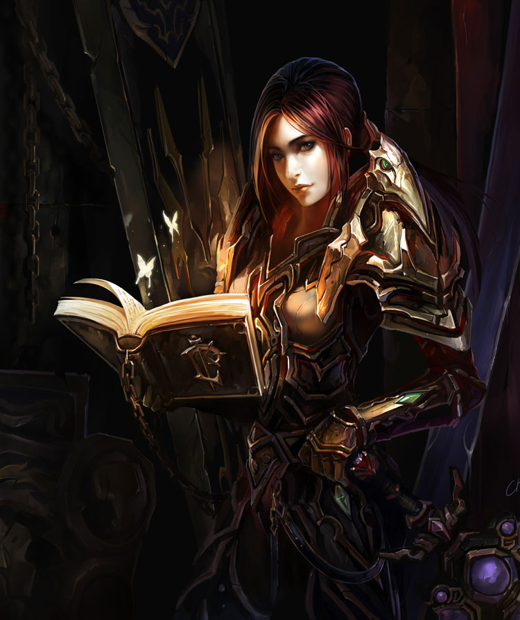 Artist Spotlight - Warcraft Fantasy Art Featuring Chenbo