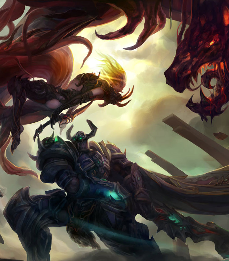 Fantasy Concepts & Warcraft Fan Art Featuring chang liu