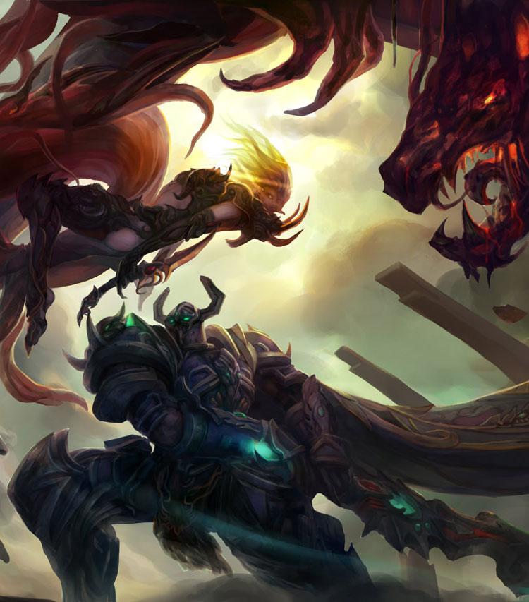 Fantasy Concepts & Warcraft Fan Art Featuring chang liu
