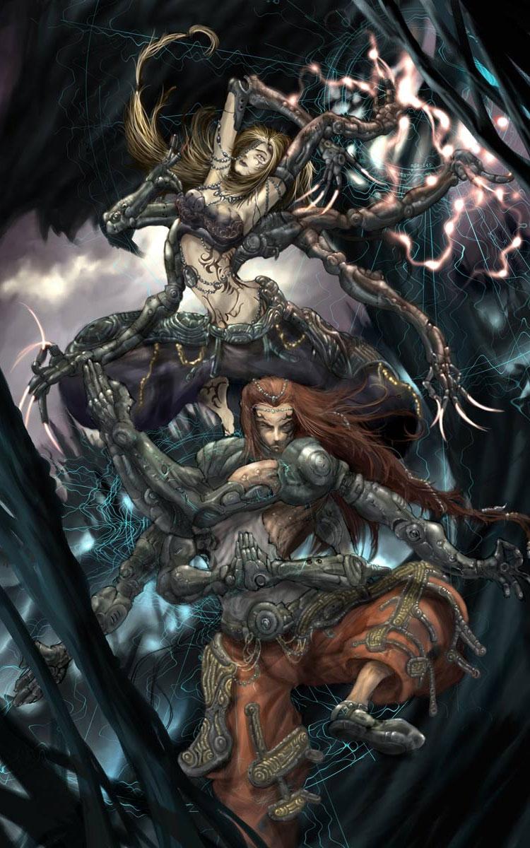 3D Fantasy & Sci-fi Digital Art Featuring monsitj