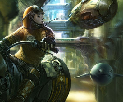 Sci-fi & Fantasy Art Featuring the Multi Talented Artist Liu Yang