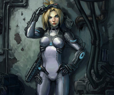 Starcraft II Review & Execeptional Fan Artwork