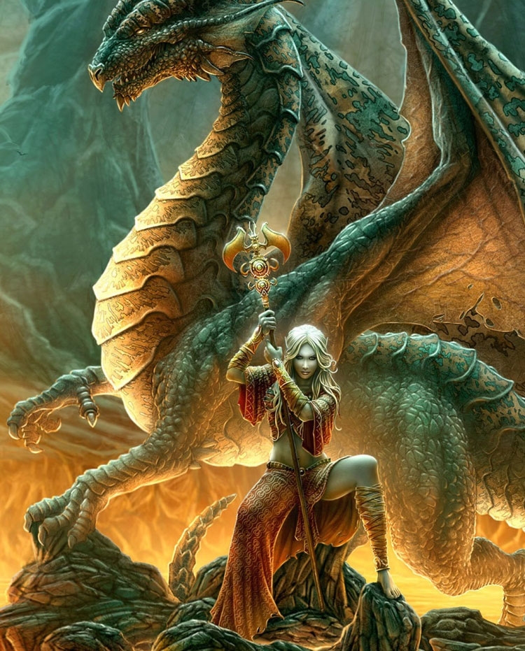 Can You Tame The Dragon? Beautiful Dragon Wallpapers