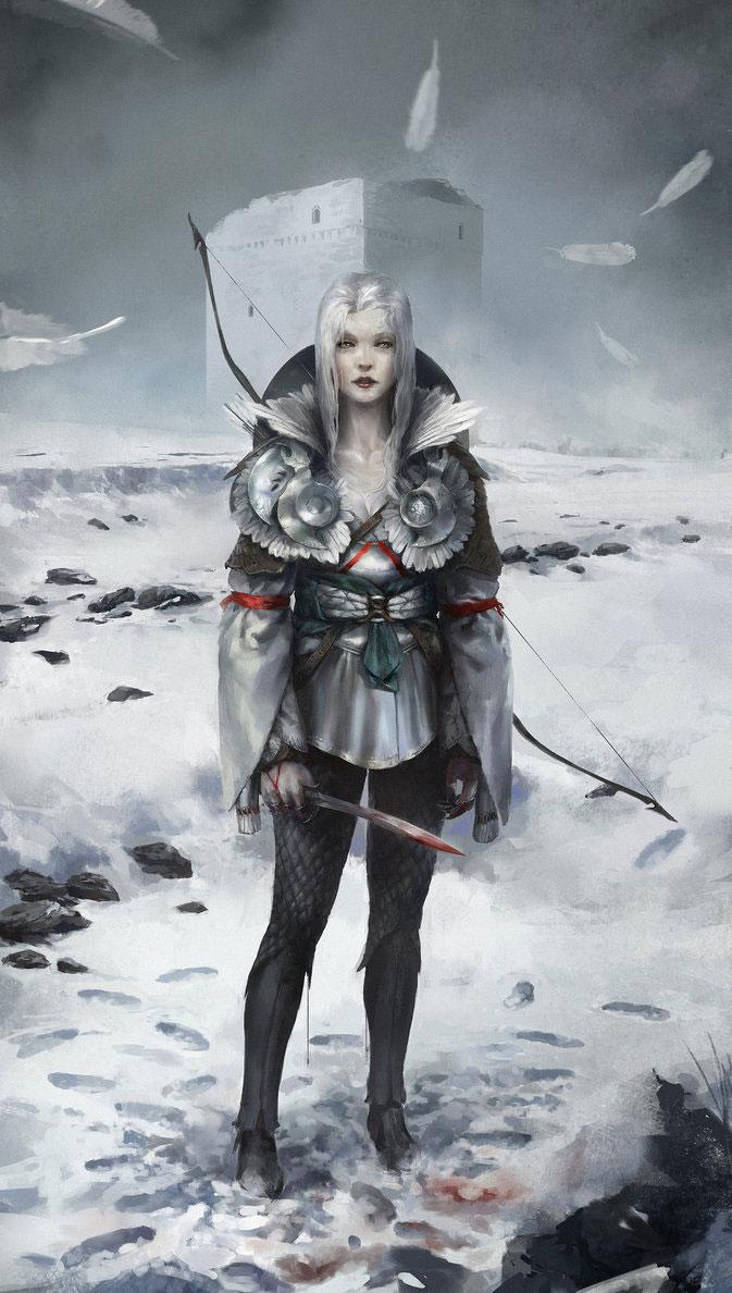 Sci-fi Concepts & Fantasy Art Featuring Long Ou Yang