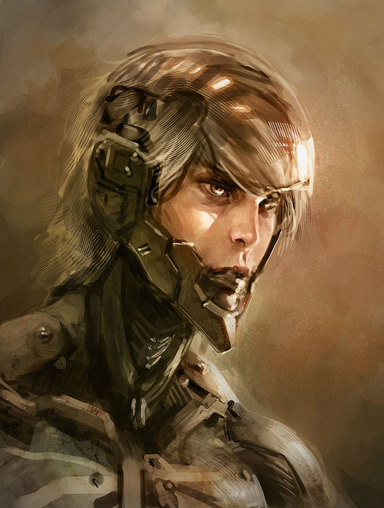 Fantasy Art & Portraits Featuring Concept Artist Victor Fedotov