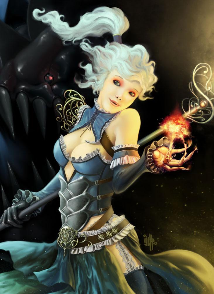Inspirational Sci-fi & Fantasy Art Featuring Isuardi Therianto