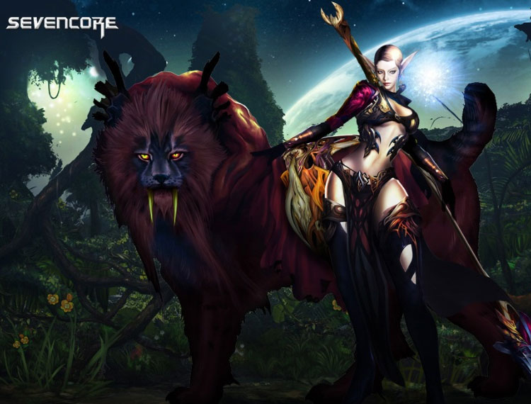 MMORPG Character Design & Promo Art From Sevencore
