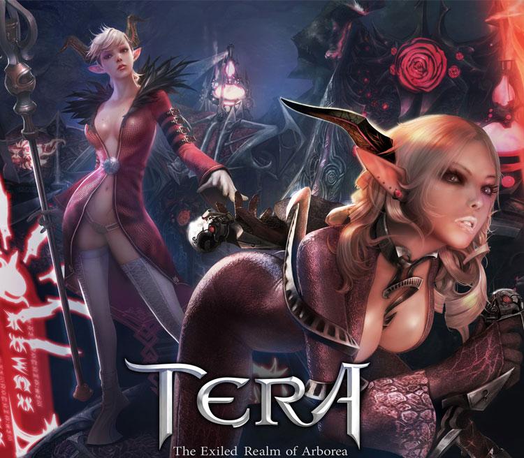 Beautiful Tera Environment Concept Art & Character Design