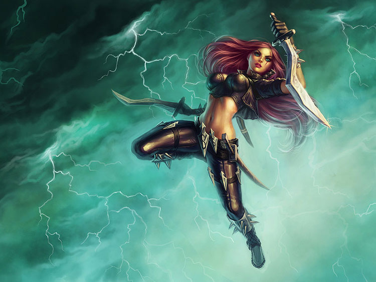 Fantasy Art Featuring League of Legends Illustrator Katie De Sousa