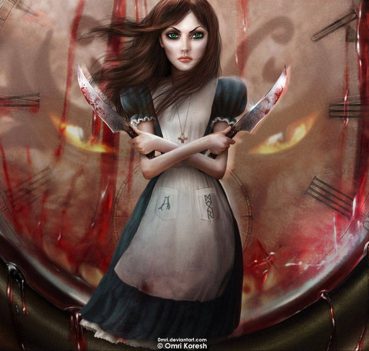 Alice Madness Returns Fan Art Featuring Omri Koresh