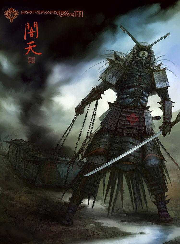 Fantasy Art Featuring Concept Artist Lorenz Hideyoshi Ruwwe